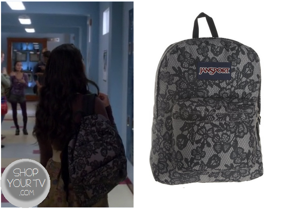 Switched at Birth: Season 2 Episode 3 Bay's Lace Print Bag – Shop ...