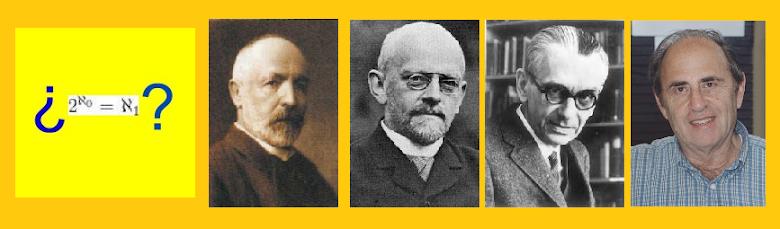 La Hipótesis del Continuo de Cantor ¿Cuál es el cardinal del continuo?