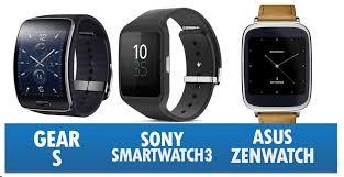 Sony SmartWatch 3 atau Asus Zenwatch