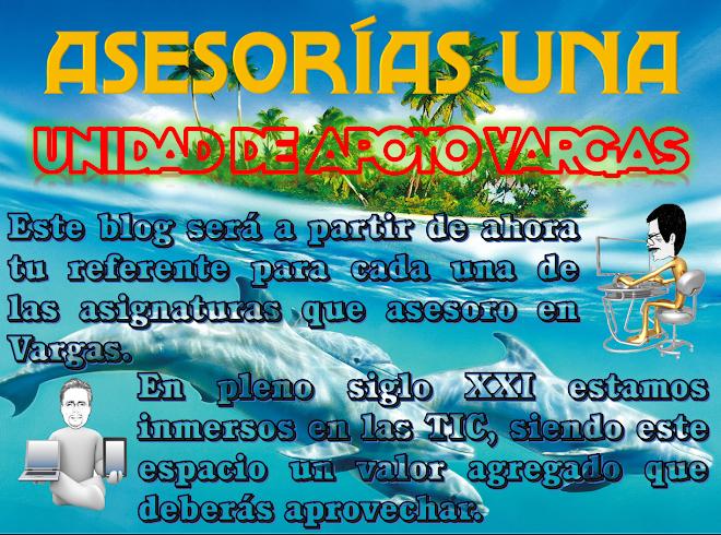 Asesorías UNA,                                  Unidad de Apoyo Vargas