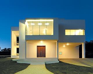 Fachadas de casas modernas fachadas de casas y casas por for Disenos techos minimalistas