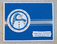 card made with Stampin'UP! stamp set: Snow Much Fun
