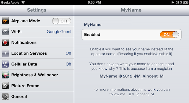 MyName-Cydia-Tweak