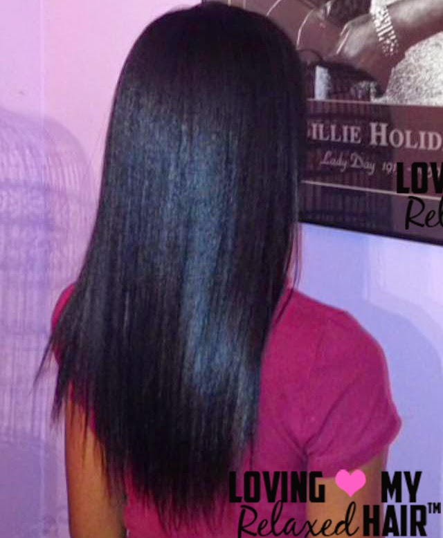 Loving My Relaxed Hair™ Presents: TexlaxedCutie - Hairlicious Inc.
