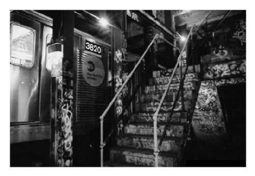 Estacion metro South Bronx, 1984