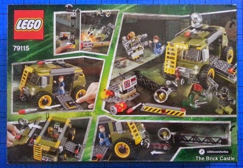 LEGO Teenage Mutant Ninja Turtles: Turtle Van Takedown Set 79115 Review pack shot