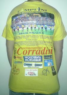 228 - modena fc calcio football seriea 2002 sponsor trash back photo team