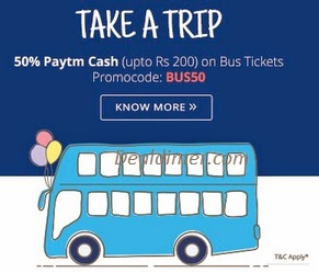 Flat 40% Cashback on your Favorite Bus Routes