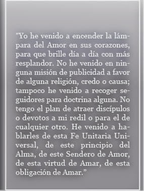 YO HE VENIDO A ENCENDER LA LÁMPARA DEL AMOR