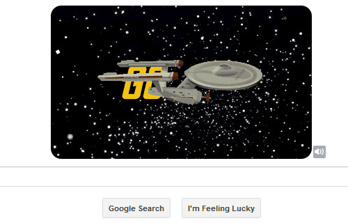 Star Trek Google Doodle Final Show