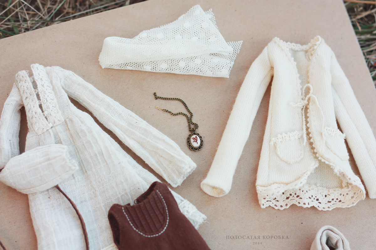 Бохо одежда для куклы