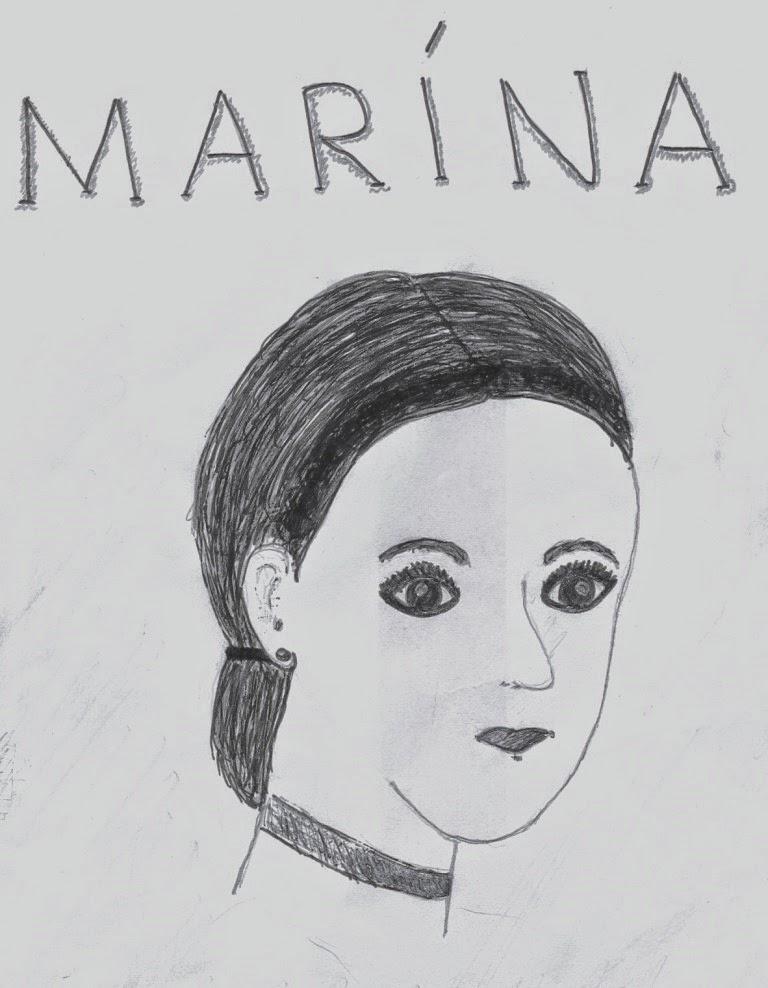 portrét Maríny
