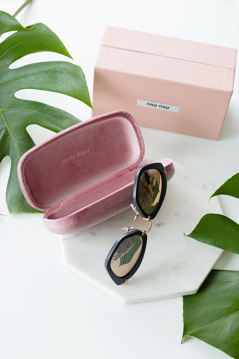 Miu Miu sunglasses via Maverick & Wolf