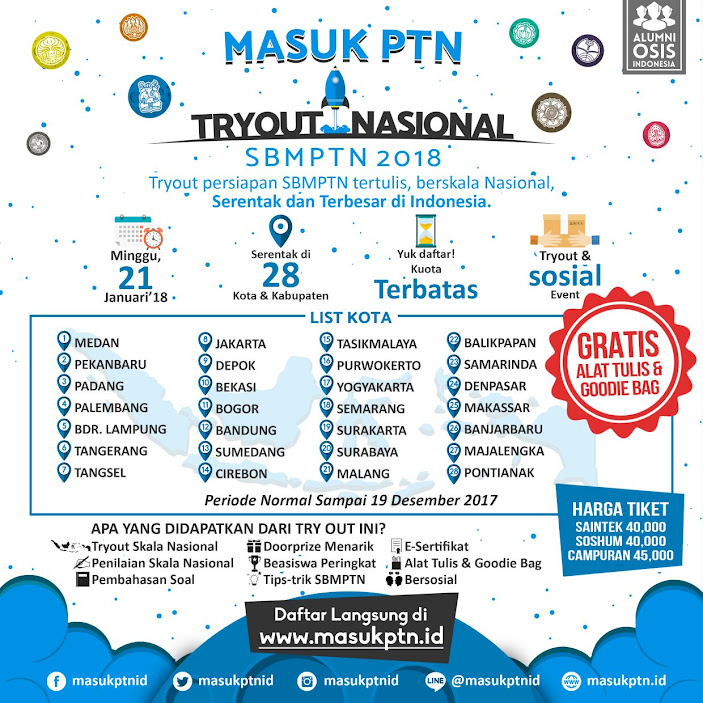 Try Out Nasional SBMPTN