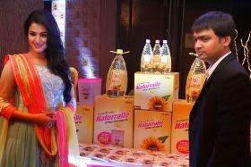 Launch of Naturralle Refined Sunflower oil in #Mumbai