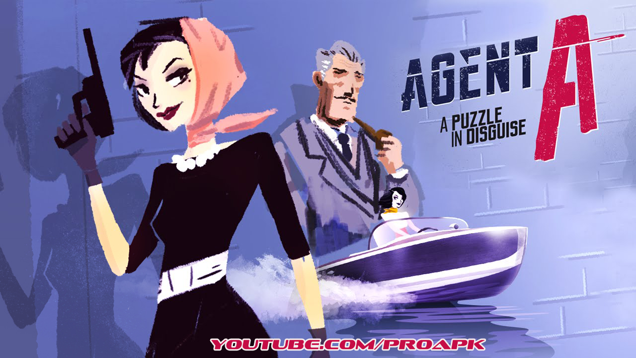 Agent A: A puzzle in disguise Gameplay IOS / Android