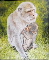 Lukisan Monyet