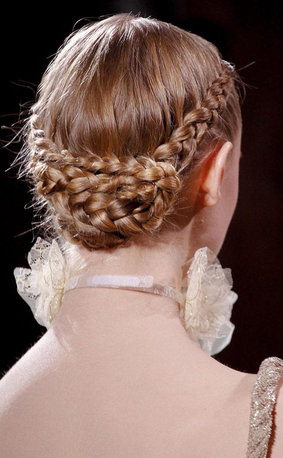 Todo sobre bodas peinado con trenzas peinados para - Peinados de boda para invitadas ...