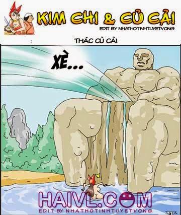 Đọc truyện tranh 18 Kim chi củ cải – Thác củ cải
