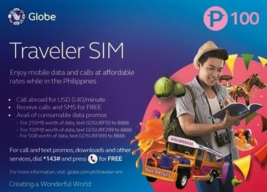 Globe Traveler SIM