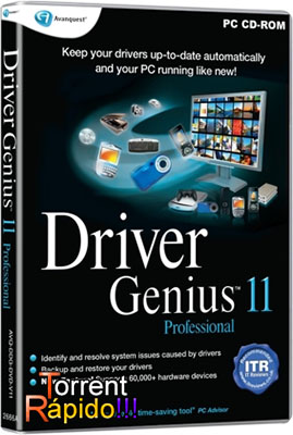 Programa Driver Genius Professional Edition v.11 BY Torrent Rápido