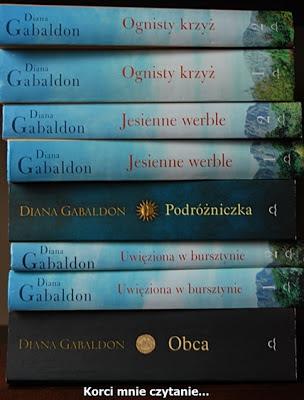 """Diana Gabaldon """"Ognisty krzyż"""" - kolejny tom sagi """"Obca"""""""