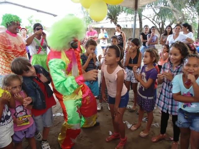 festa das crianças na ASCOCJARE EM CONDE PB presidente ana maria gomes