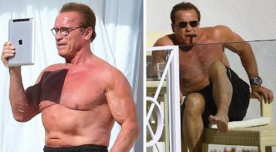 Arnold Schwarzenegger old funny naked