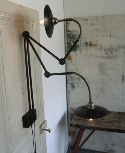 Wo and w collection lampe murale potence industrielle - Lampe murale industrielle ...