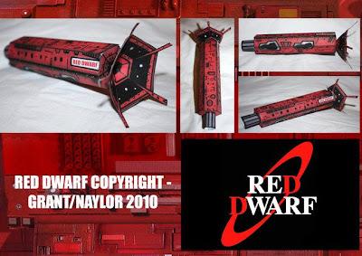 red dwarf ship model kit - photo #16