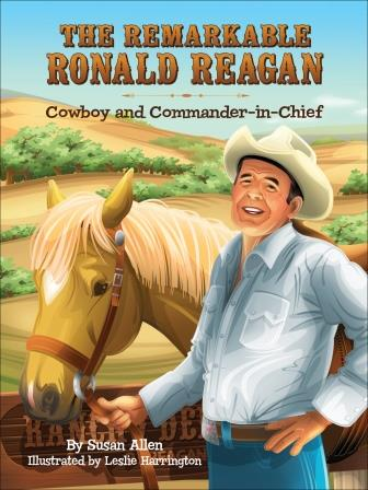 The Remarkable Ronald Reagan - review and GIVEAWAY!  http://www.upatdawnreadytowork.com/2013/06/the-remarkable-ronald-reagan-cowboy.html