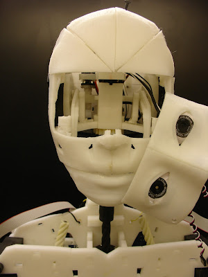 InMoov eye mechanism, front view