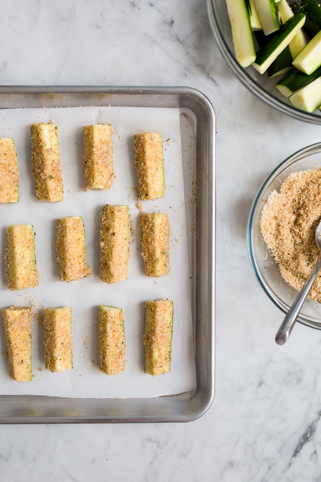 Baked Zucchini Sticks – The Skinnytaste Cookbook {GIVEAWAY}