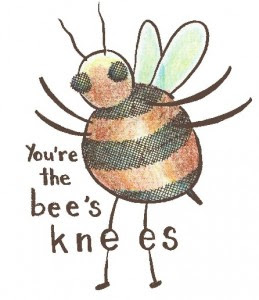 Little Creation : the bee's knees (an incident at work)