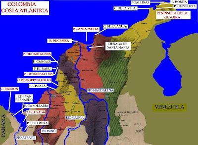 Regin Caribe Colombiana Geografa