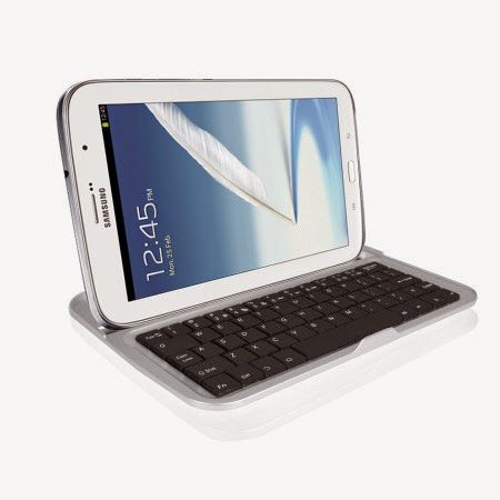 Aluminium Bluetooth Keyboard Case for Samsung Galaxy Note 8.0 N5100 N5110