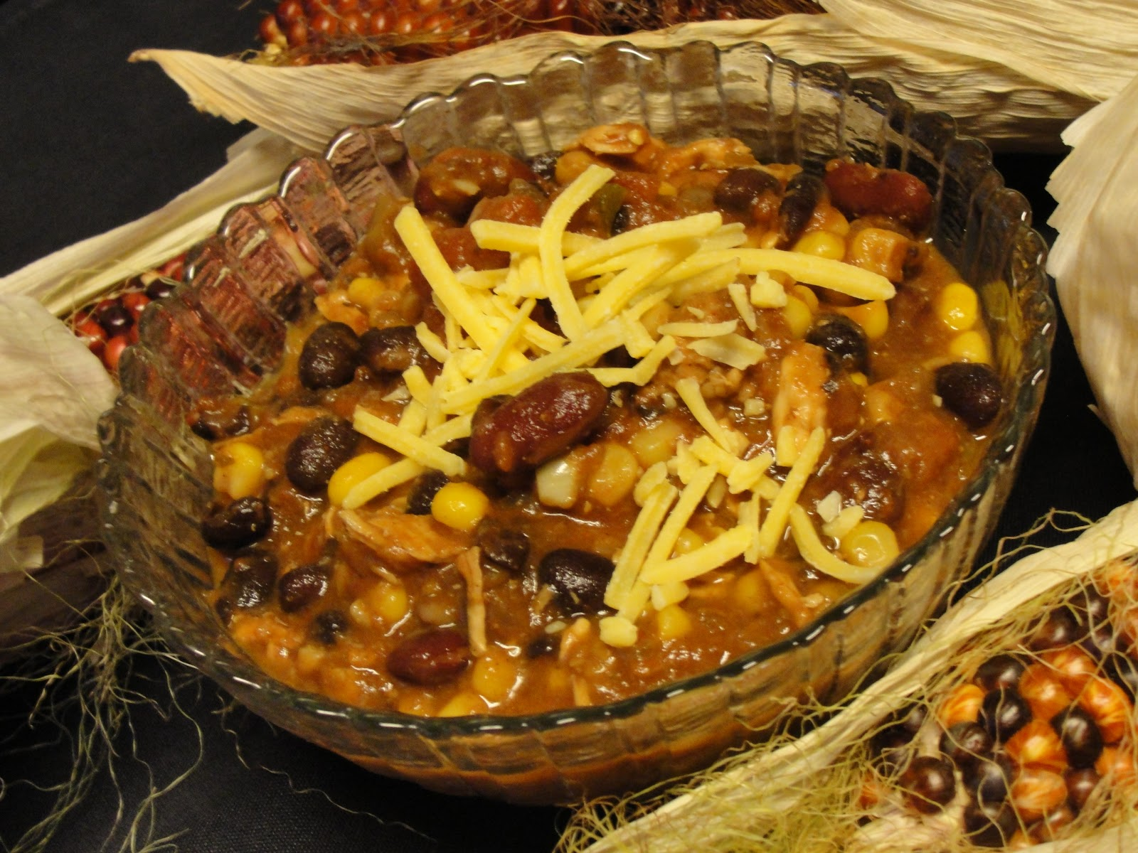 Moon Valley Productions: Crock Pot Chicken Taco Chili