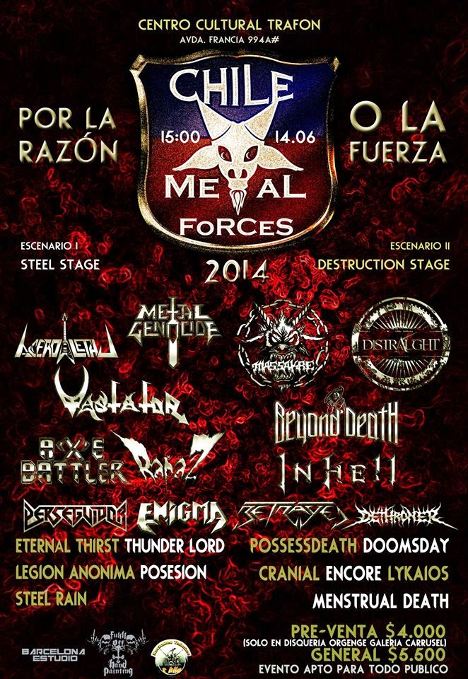 Chile Metal Forces