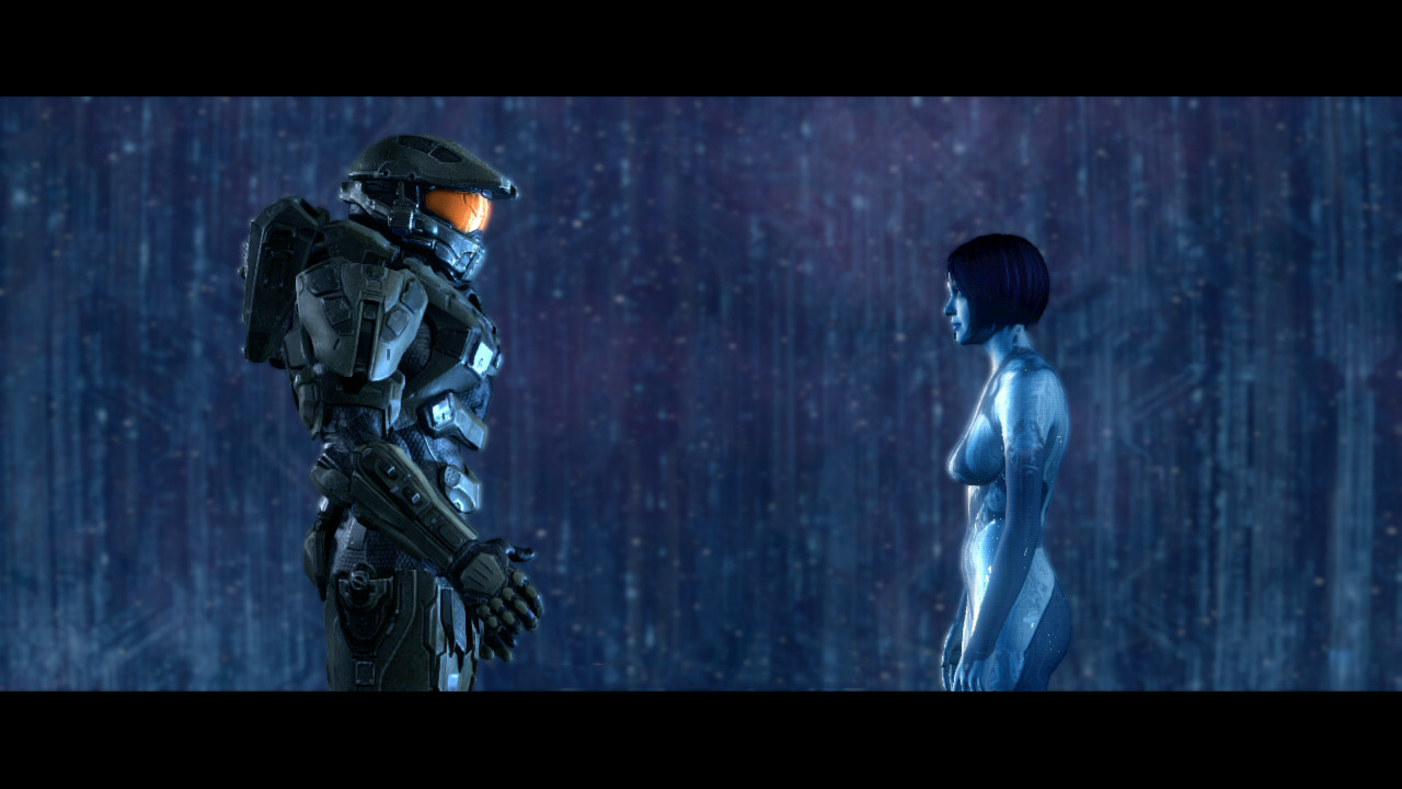 Cortana and master chief nude hentia curly doll