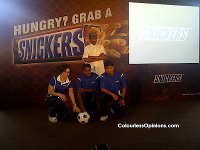 Snickers You're Not You When You're Hungry Campaign Launch 2012 Malaysia with Rajagopal Kunanlan Safiq Rahim