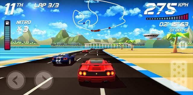 El juego de carreras Horizon Chase tiene nuevo trailer