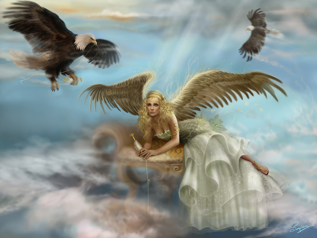 Angel World 3D Background Wallpapers | Angel Background ...