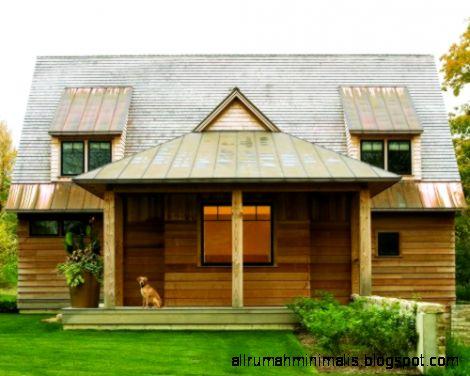 Contoh rumah kayu murah