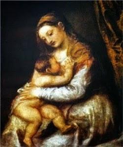Tiziano, Madonna con il bambino