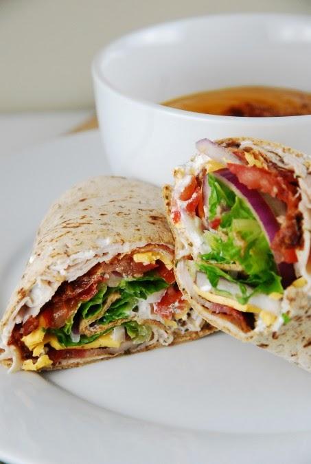 Weight Watcher's Bacon Ranch Turkey Wrap Recipe