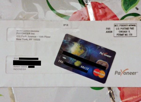 Kartu Debit Mastercard Payoneer