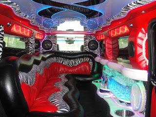 liousine interior