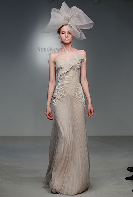 Vera Wang 2012 Wedding Gown Fall Collection