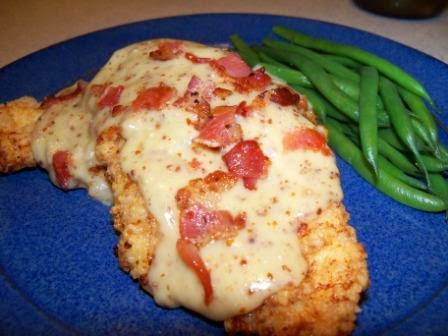 ... Creative: Pecan Chicken with Woodford Reserve Maple Cream Sauce