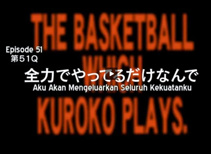 Preview Kuroko No Basket season 3 Episode 1